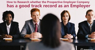How to Research Prospective Employer Company is good