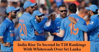 India Rise To Second In T20 Rankings With Whitewash Over Sri Lanka