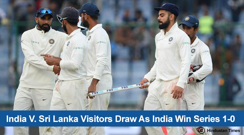 India vs Sri Lanka Test Series 2017