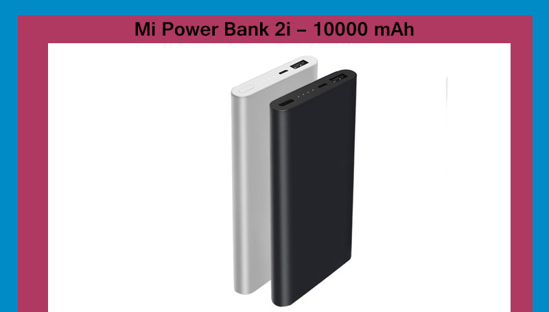 Mi Power Bank 2i 10000 mAh