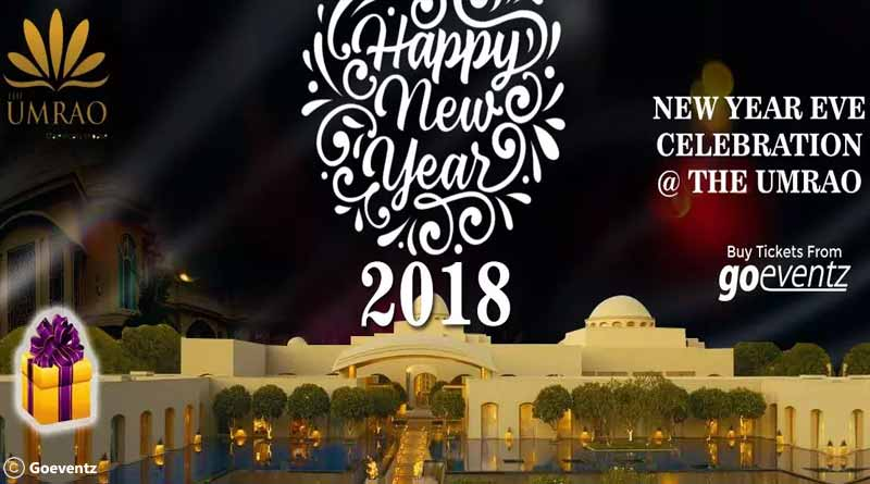 NYE 2018 Celebration at TheUmrao, New Delhi
