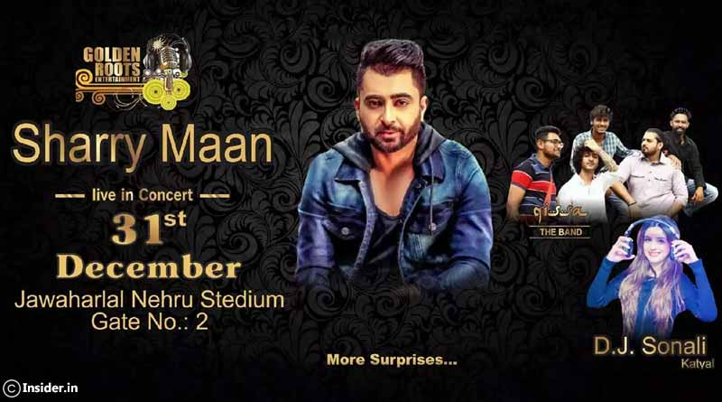 Perfect NY Bash with Sharry Mann at JLN Stadium, New Delhi