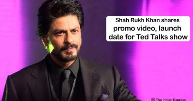 Shah Rukh Khan Ted Talks show