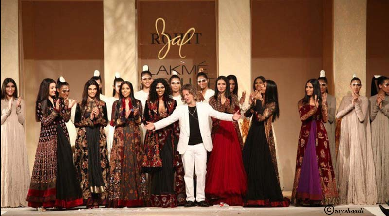 Fashion Designer Rohit Bal