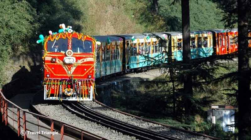 Toy Train ride from Dharampur to Barog
