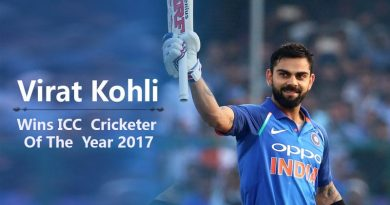 Virat Kohli Wins ICC Cricketer Of The Year 2017