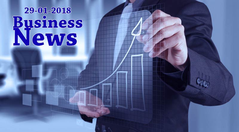 India business news headlines 29th January 2018