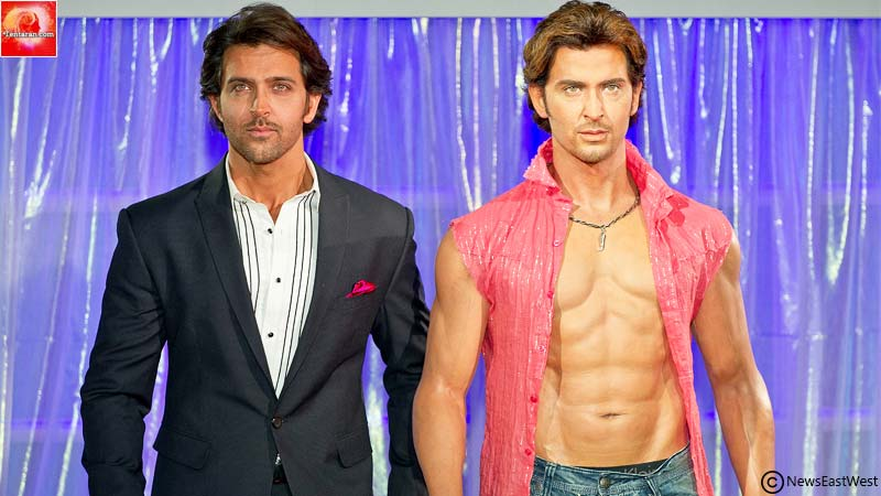 Hrithik in Madame Tussauds