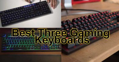 Best Three Gaming Keyboards
