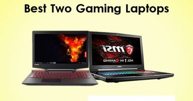 best two gaming laptops