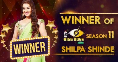 Shilpa Shinde is the winner of Bigg Boss 11