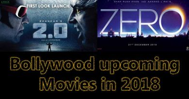 Bollywood upcoming movies in 2018