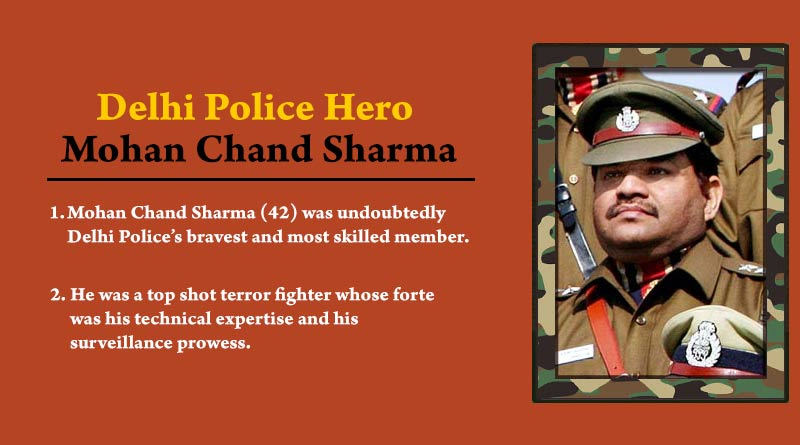 Delhi Police Hero Mohan Chand Sharma