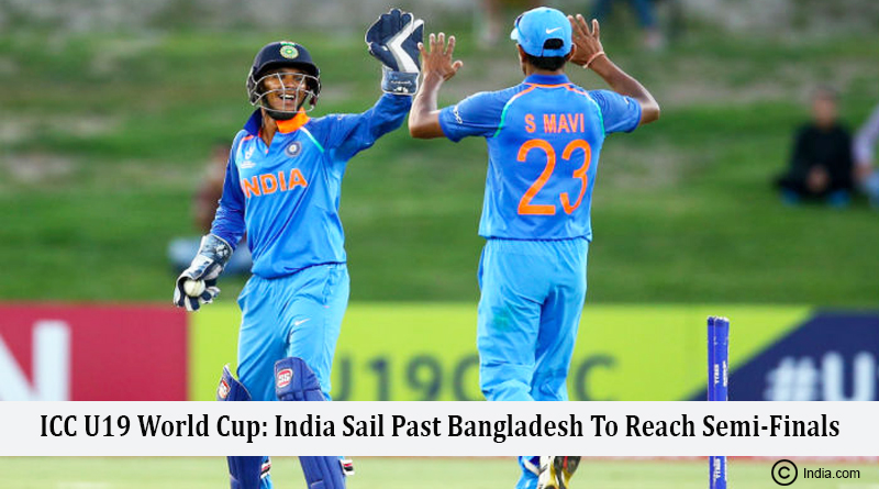 ICC U19 World Cup: India Sail Past Bangladesh To Reach Semi-Finals