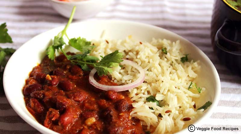 Rajma Chawal (Kidney beans and Rice)