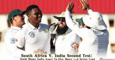 South Africa V India Second Test Ngidi Blows India Apart To Give Hosts 2-0 Series Lead
