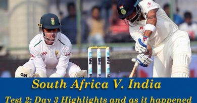 South Africa V India Test 2 Day 3 Highlights and as it happened