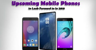 Upcoming Mobile Phones to Look Forward to in 2018
