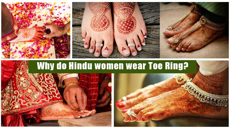Why do Hindu women wear Toe Ring