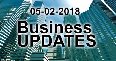 India business news headlines 5th February 2018