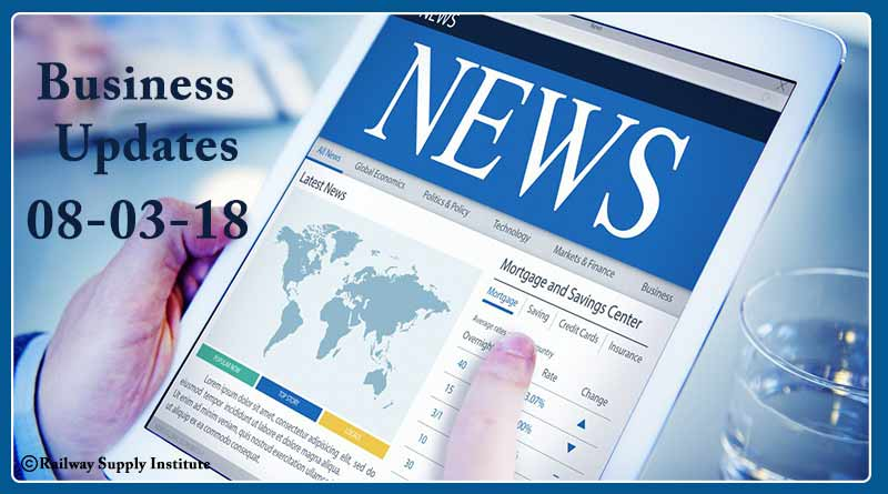 India business news headlines 8th March 2018