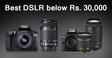 Best DSLR Camera below Rs 30000