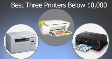Best Three Printers Below 10,000
