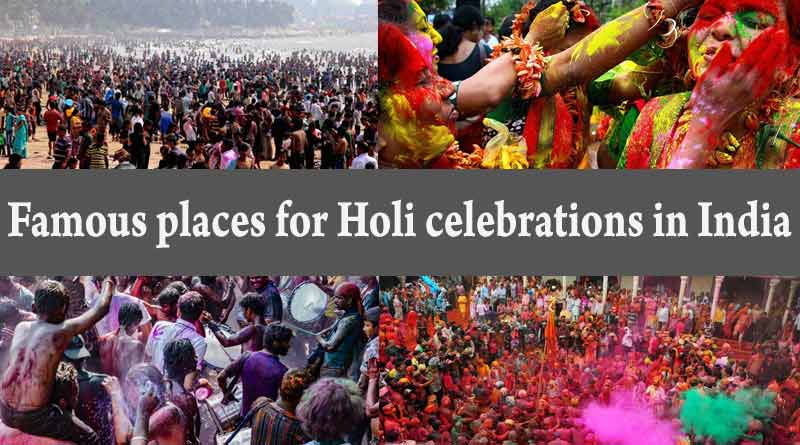 Holi celebrations in India