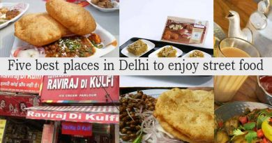 Five best places in Delhi to enjoy street food