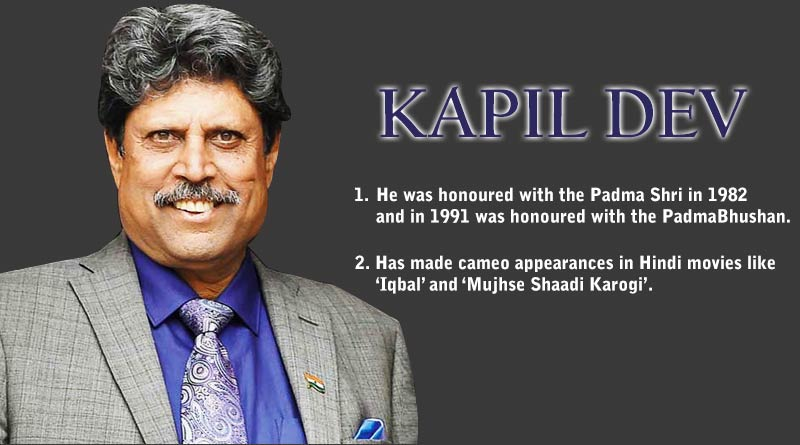 interesting facts about kapil dev