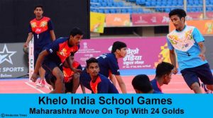 Khelo India School Games: Maharashtra Move On Top With 24 Golds