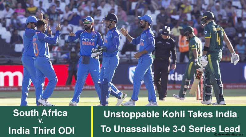 South Africa V. India Third ODI