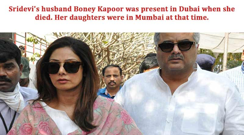 Sridevi's husband Boney Kapoor