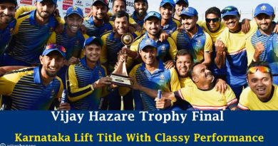 Vijay Hazare Trophy Final Karnataka Lift Title With Classy Performance