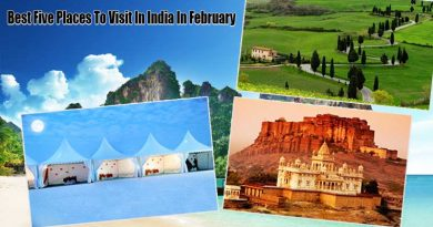 Best Five Places To Visit In India In February
