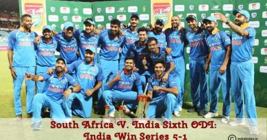 South Africa vs India Sixth ODI India Win Series 5-1