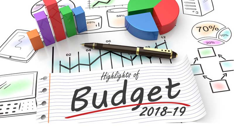 Highlights of Union Budget 2018-19