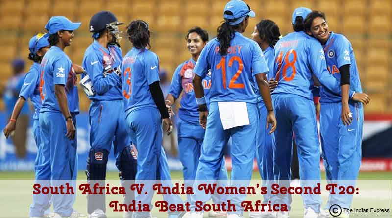 South Africa vs India Women Second T20 India Beat South Africa