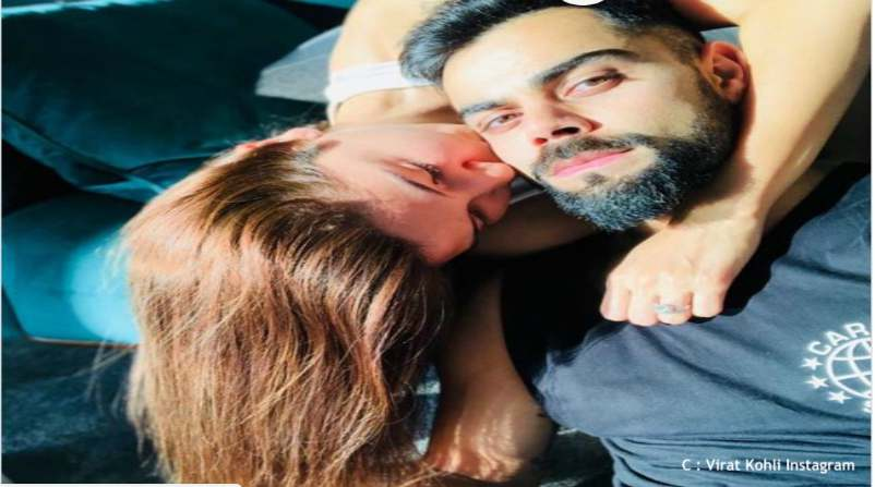 Virat and Anushka's recent pictures on Instagram