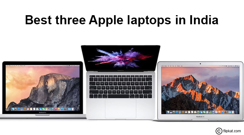 Apple laptops in India