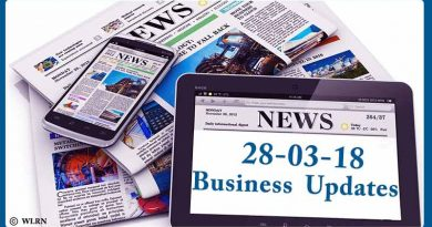 India business news headlines 28th March 2018