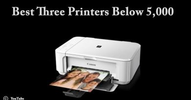 Best Three Printers Below 5000
