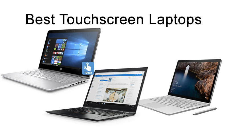 Touchscreen-Laptops