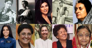 women's day 2018:10 First Indian women in Indian history