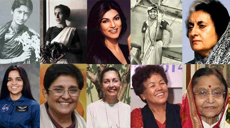 On womens day 2018 10 First Indian women in Indian history twentieth WCP: Status of Women in Indian Society