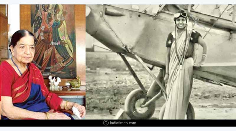 Sarla Thakral First Woman Pilot of India biography