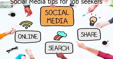 Social Media tips for job seekers