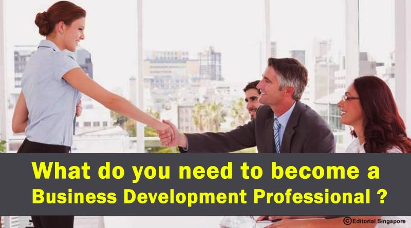 What do you need to become a Business Development Professional