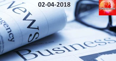 India business news headlines 2nd April 2018