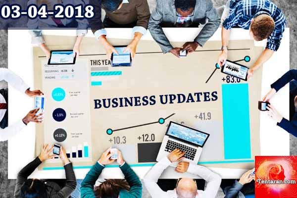 India business news headlines 3rd April 2018